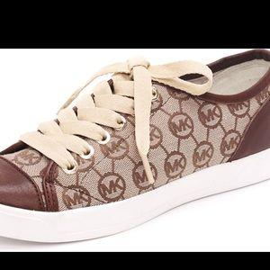 Michael Kors Women's Brown City Sneaker